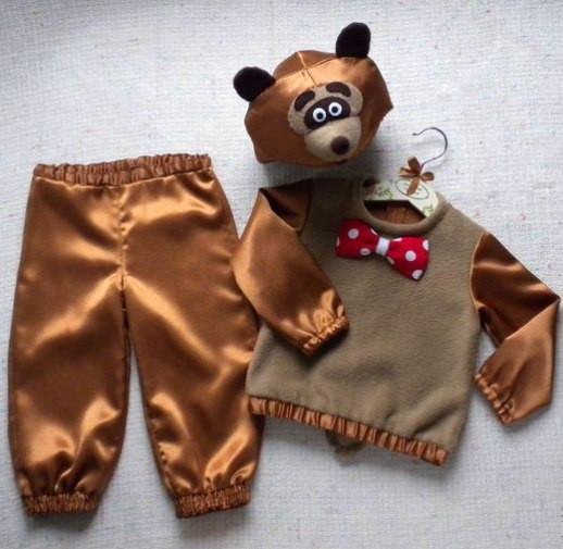 Костюм медведя для мальчика своими руками: как сделать красивый и