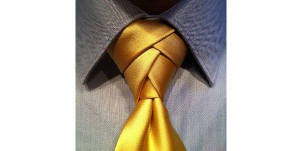 Фото как завязывать галстук елочкой